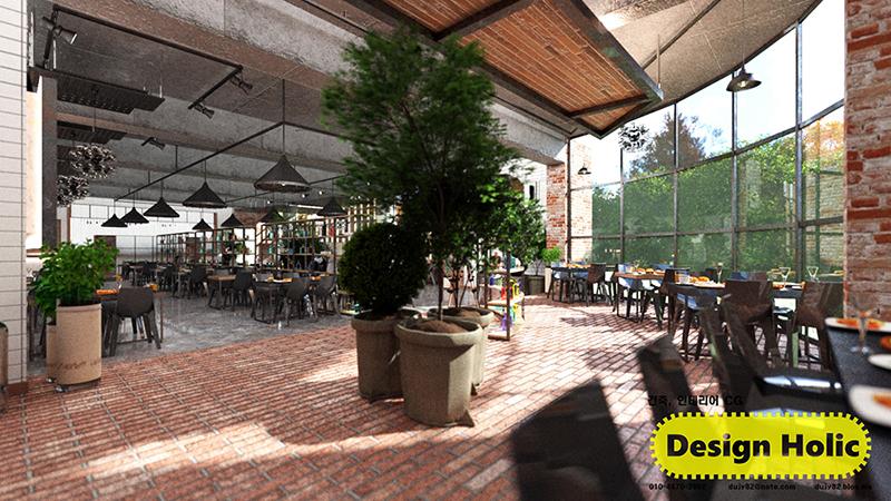 인더스트리얼 컨셉 카페 인테리어 디자인 3d cg 투시도,조감도,아이소메트릭 h.jpg