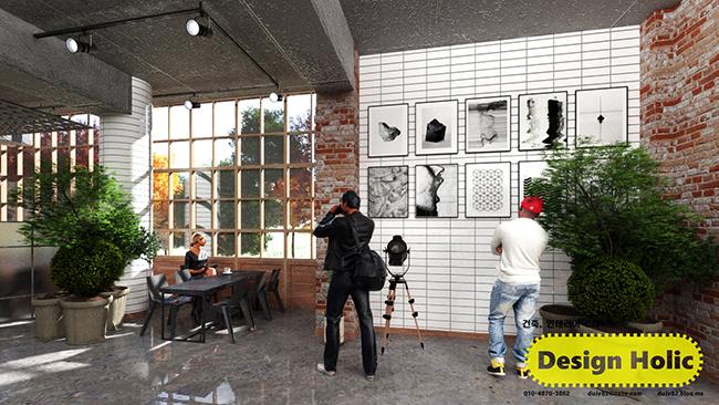 인더스트리얼 컨셉 카페 인테리어 디자인 3d cg 투시도,조감도,아이소메트릭 b.jpg