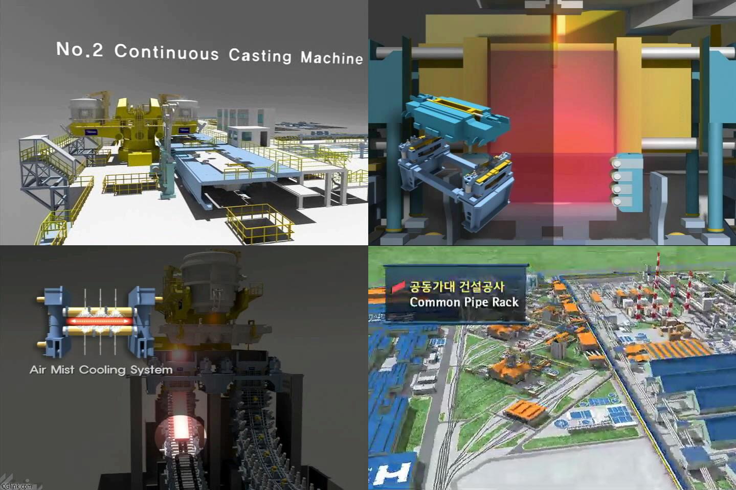 플랜트,기계,건축,인테리어분야 3D 작업자입니다. - 구직 - CGlink : 현대제철-연주기.jpg
