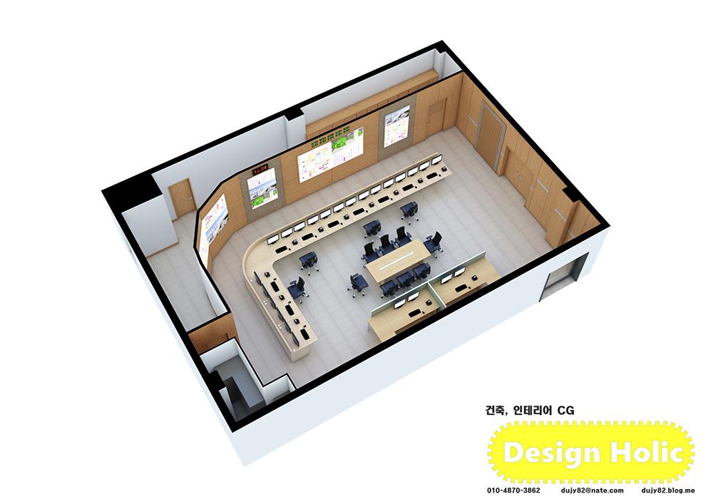 발전소 조종실 인테리어 3d 투시도 조감도 아이소메트릭 외주 수주 아르바이트 건축 건물 2.jpg