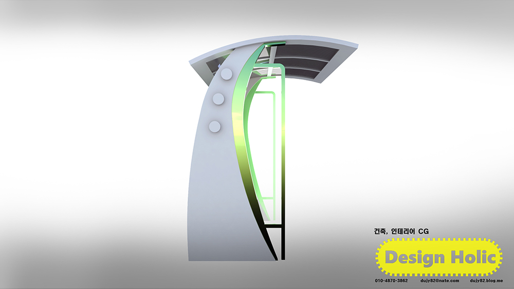 전기차 충전소 부스 건물 투시도,조감도 아이소메트릭 인테리어 제출용 컨펌용 심의용 3D CG3.jpg