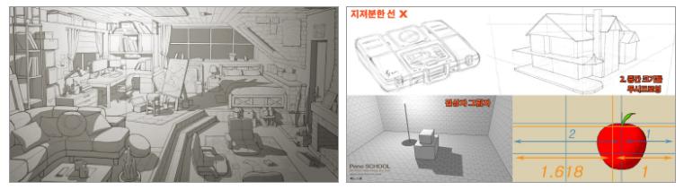[페느아트학원] 게임 영화 애니메이션 배경원화 컨셉아트 & 매트페인팅 전문학원 - PR - CGlink : 카페-1.jpg