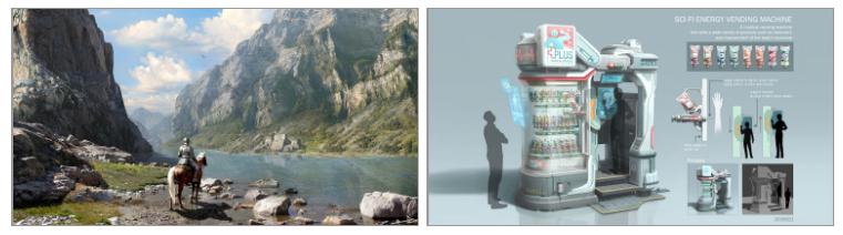 [페느아트학원] 게임 영화 애니메이션 배경원화 컨셉아트 & 매트페인팅 전문학원 - PR - CGlink : 카페-3.jpg